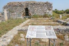 Город древнегреческия Miletus в Didim, Aydin, Турции стоковое фото rf
