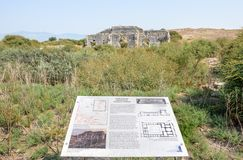 Город древнегреческия Miletus в Didim, Aydin, Турции стоковые изображения