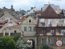 город зданий старый стоковое изображение rf