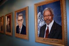 город здания внутри новой ООН york Стоковые Изображения