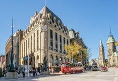 Город здания почтового отделения Оттавы стоковое изображение rf