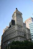город здания ny стоковое изображение rf