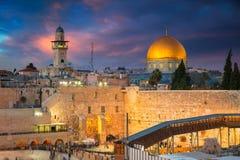 Город Иерусалима, Израиля стоковое фото