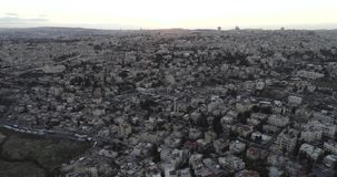 Город Иерусалима старый, Израиль видеоматериал