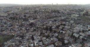 Город Иерусалима старый, Израиль сток-видео