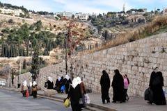 Город Иерусалима старый стоковые изображения