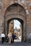 Город Иерусалима старый стоковое фото