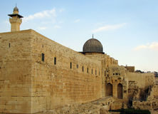 город Иерусалим старый Стоковое фото RF