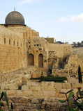 город Иерусалим старый Стоковые Изображения