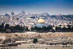 город Иерусалим старый Стоковые Изображения RF