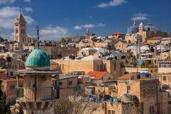 город Иерусалим стоковая фотография rf