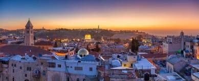 город Иерусалим стоковая фотография