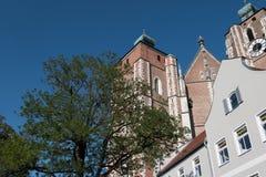 Город Ингольштадта в Германии стоковые фото