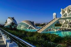 Город искусства и науки стоковая фотография rf