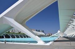 Город искусств и наук в Валенсия, Испании Стоковое фото RF