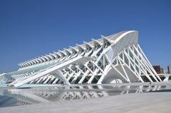 Город искусств и наук в Валенсия, Испании Стоковое Изображение RF