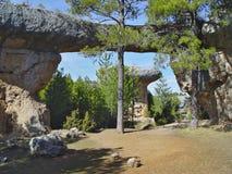 город Испания заколдованная cuenca стоковые изображения