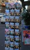 Город Италия Рима сувенирного магазина Стоковое фото RF