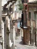 город Италия старый ragusa Стоковое Изображение RF