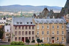 город Квебек зданий Стоковые Фотографии RF