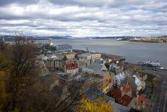 город Квебек Стоковое Изображение RF