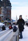 город Квебек Стоковая Фотография