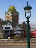 город Квебек Стоковые Изображения RF