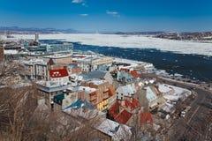 город Квебек стоковые фото