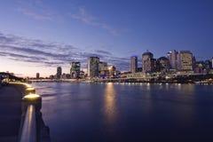 город Квинсленд Австралии brisbane Стоковые Изображения RF
