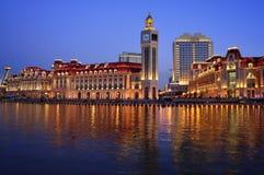Город Китай Tianjin Стоковая Фотография