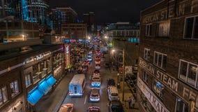 Город к ноча Стоковая Фотография RF