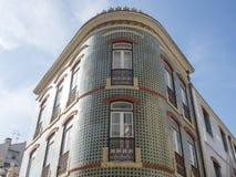 Город Лиссабона, архитектура стоковая фотография rf