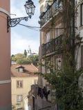 Город Лиссабона стоковые изображения rf