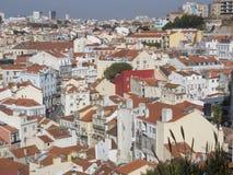 Город Лиссабона стоковое фото rf