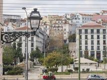 Город Лиссабона стоковая фотография