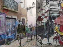 Город Лиссабона стоковые изображения