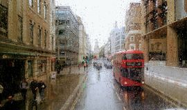 Город Лондона Стоковое Изображение RF