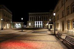 Город Люксембурга Стоковое фото RF
