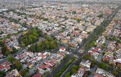 город Мексика Стоковые Фотографии RF