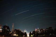 Город Мельбурна стоковое изображение