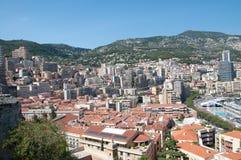 Город Монако Стоковое фото RF
