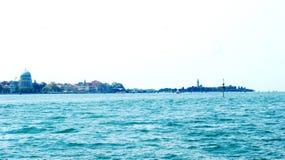 Город на воде Стоковое Изображение RF