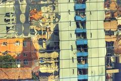 город нечестный стоковая фотография rf