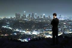 Город ночи Стоковые Фото