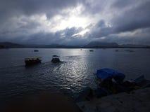 Город озер стоковая фотография rf