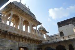 Город озер Udaipur, дворца города, здания наследия, большой истории, династии Mewar, королевской семьи стоковые фото