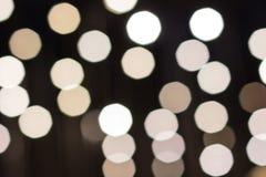 Город освещает на заднем плане с запачкать светами стоковое изображение