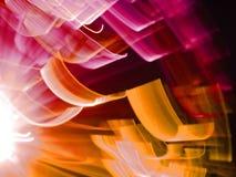 город освещает ночу Стоковое Изображение RF