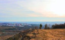 Город осени Брна Стоковая Фотография RF