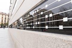 Город отражения диаграммы музыки Стоковые Фотографии RF